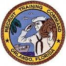 United States NAVY Recruit Training Command Orlando, Florida Military Patch RTC
