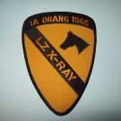US ARMY 1st CAVALRY DIVISION MILITARY PATCH IA DRANG 1965 LZ X-RAY
