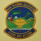 "66th TS TRAINING SQ S.E.R.E School Military Patch Insignia ""Learn and Return"""