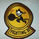 VF-31 US Navy Aviation Fighter Attack Squadron Military Patch FIGHTING 31 Felix