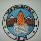 ( AE - 25 ) USS HALEAKALA  AMMUNITION SHIP MILITARY PATCH