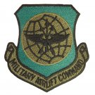 UNITED STATES AIR FORCE MILITARY AIR LIFT COMMAND BADGE MILITARY PATCH - USAF