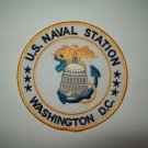 US NAVAL STATION WASHINGTON D.C. MILITARY PATCH - NAS