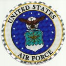 UNITED STATES AIR FORCE MILITARY CAR VEHICLE WINDOW DECAL PATRIOTIC STICKER