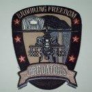 "US ARMY Enduring Freedom Apache Army Aviation Military Patch ""PREDATORS"""