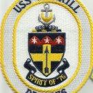 USS MERRILL DD-976 DESTROYER SHIP CREST MILITARY PATCH - SPIRIT OF '76