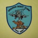 US NAVY F-14 TOMCAT Operation Desert Storm Military Patch PRAY, BABY!