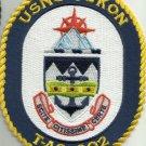 USNS YUKON T-AO 202 FLEET REPLENISHMENT OILER SHIP CREST MILITARY PATCH