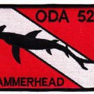 ARMY 1st Battalion 5th Special Forces Group ODA 525 MILITARY PATCH - HAMMERHEAD