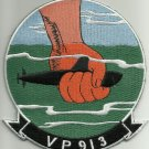 NAVY AVIATION PATROL SQUADRON NINE ONE THREE VP-83 MILITARY PATCH PATRON 913
