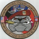 ARMY 2nd SQUADRON 82nd AVIATION REGIMENT D Co MILITARY PATCH DOG POUND OEF VIII