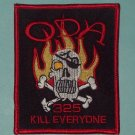 US ARMY 1st Bn 3rd Special Forces Group ODA 325 MILITARY PATCH - KILL EVERYONE