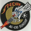 USAF United States Air Force AC-130 Gunship SOS SPECTRE Military Patch