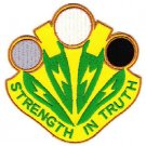 ARMY 16th Psychological Operations BN PSYCH OPS Military Patch STRENGTH IN TRUTH