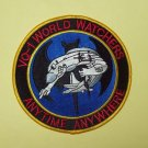 "US Navy Fleet Air Reconnaissance Sq ""WORLD WATCHERS"" Military Patch VQ-1 ANYTIME"
