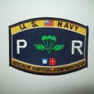 NAVY Aircrew Survival Equipmentman Parachute Rigger Rating Military Patch PR (a)