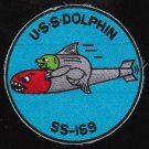 USS Dolphin SS-169 Diesel Submarine Military Patch