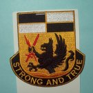 US ARMY 4th BRIGADE 4th INFANTRY DIVISION STB 24 MILITARY PATCH STRONG AND TRUE