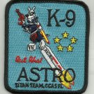 TITAN TEAM CAPE CANAVERAL AIR STATION FLORIDA K-9 ASTRO NASA MILITARY PATCH
