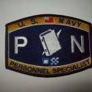 United States Navy PERSONNEL SPECIALIST Ratings Patch - PN - Military Patch