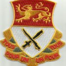 ARMY - 15th CAVALRY REGIMENT MILITARY PATCH ALL FOR ONE ONE FOR ALL