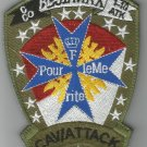 ARMY 1st SQUAD 10th AVIATION ATTACK DIVISION C Co VELCRO MILITARY PATCH BLUE MAX