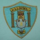 USS CATSKILL MCS-1 MINE COUNTERMEASURES SHIP MILITARY PATCH