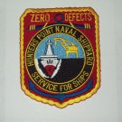 NAVAL SHIPYARD HUNTERS POINT, CA - SERVICE FOR SHIPS MILITARY PATCH