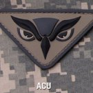 OWL HEAD ACU OEF OIF COMBAT TACTICAL BADGE MORALE 3D PVC VELCRO MILITARY PATCH