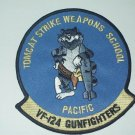 US NAVY VF-124 Gunfighters TOMCAT STRIKE WEAPONS SCHOOL Military Patch PACIFIC