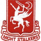 ARMY 160th SOAR NIGHT STALKERS Military Patch Special Ops Aviation Reg DESERT