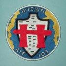 USS HITCHITI ATF 103 FLEET TUG MILITARY PATCH - US NAVY