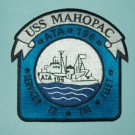 "USS MAHOPAC ATA-196 ""SERVICE TO THE FLEET"" AUXILIARY FLEET TUG MILITARY PATCH"