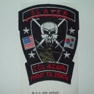 C Co 4-2 ATTACK AVIATION REGT AIR CAVALRY SLAYER-FIGHT TIL DEATH  MILITARY PATCH