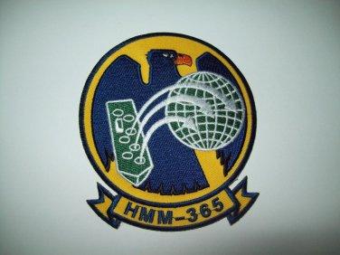 US USMC Marine Corps HMM-365 Helicoper Squadron Military Patch