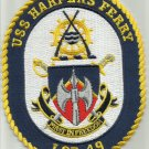USS HARPERS FERRY LSD 49 DOCK LANDING WARSHIP MILITARY PATCH FIRST IN FREEDOM