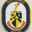 USS HAWES FFG 53 Oliver Hazard Perry Class Frigate Military Patch EVER READY