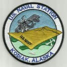 NAVAL STATION KODIAK, ALASKA NAS NA USCG MILITARY PATCH