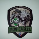 AVIATION BRIGADE 4th INFANTRY DIVISION MILITARY PATCH IRON EAGLES