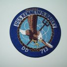 US NAVY - DD-713 USS KENNETH D BAILEY GEARING CLASS DESTROYER MILITARY PATCH