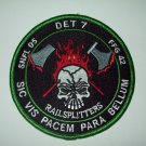 HSL-46 DET 7 Helicopter Anti-Submarine Squad FFG-42 MILITARY PATCH RAILSPLITTERS