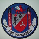 WRANGELL (AE-12)  AMMUNITION SHIP MILITARY PATCH