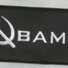 OBAMA SICKLE MOTORCYCLE BIKER LEATHER JACKET VEST MORALE MILITARY PATCH
