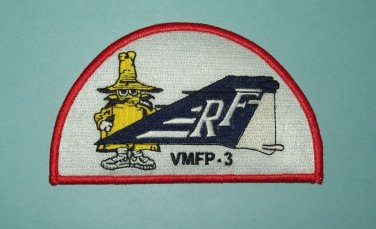 VMFP-3 TACTICAL RECONN AISSANCE SQUAD PHANTOM TAIL MILITARY PATCH - SPOOK