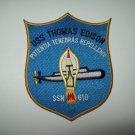 USS THOMAS EDISON SSN 610 BALLISTIC MISSILE SUBMARINE MILITARY PATCH