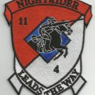 11th ARMORED CAVALRY REG 4th SQUADRON TROOP N MILITARY PATCH NIGHTRIDER