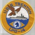 LPD-14 USS TRENTON Austin-Class Amphibious Transport Dock Military Patch
