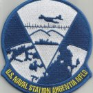 U.S. NAVAL STATION ARGENTIA NFLD MILITARY PATCH