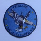 CV-39 USS LAKE CHAMPLAIN Aircraft Carrier Ship Military Patch EXCELSIOR