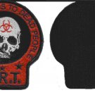 Zombie Response Team ZRT Death Skull Velcro Military Morale Patch